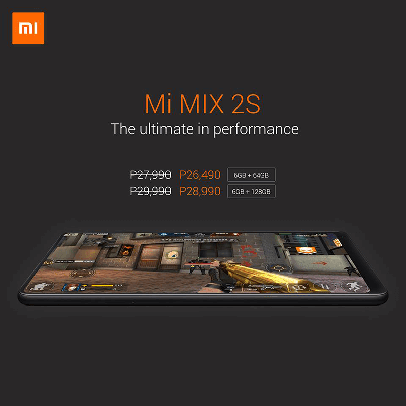 Sale Alert: Xiaomi Mi MIX 2S with SD845 is now cheaper than ever!