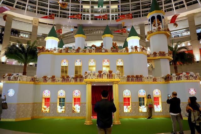 2019台北耶誕 BELLAVITA小熊王國華麗城堡 BEAR KINGDOM