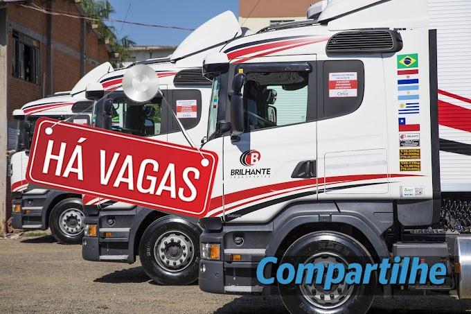 Brilhante Transportes abre vagas para Motorista carreteiro