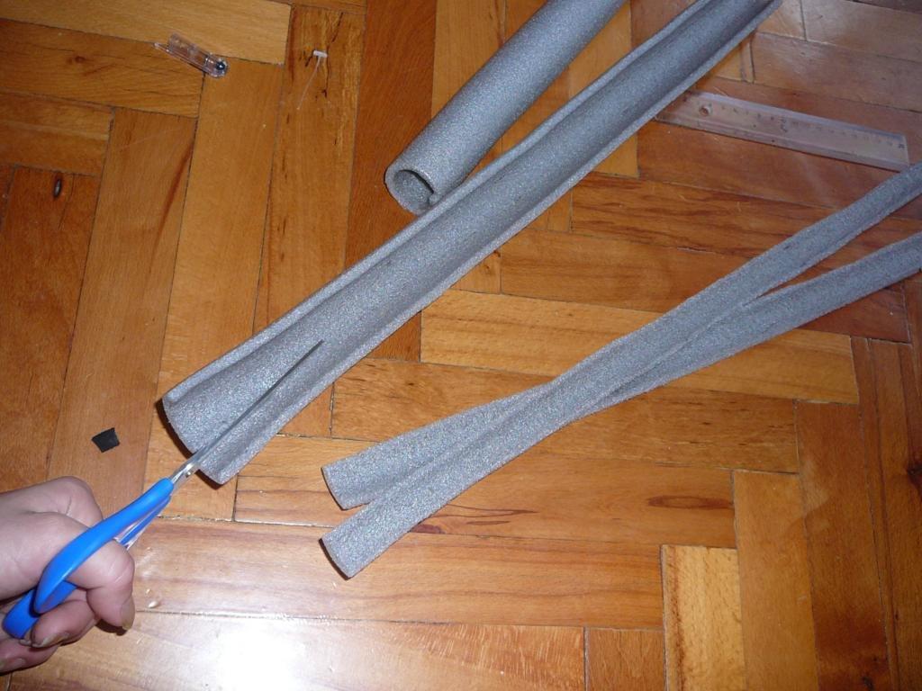 Buskador's LARP: Making a basic single edged homemade larp sword