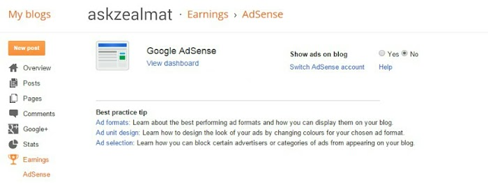 How To Change Blog Url And Re-apply For Adsense On Blogspot