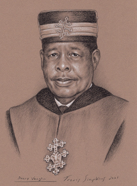 Deary Vaughn, 33°. Past Sovereign Grand Commander. Prince Hall Scottish Rite. by Travis Simpkins