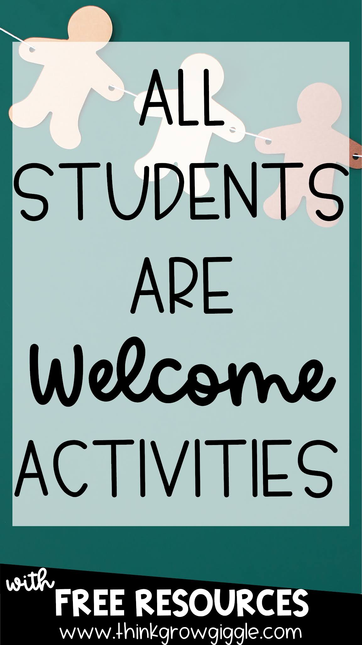 All Are Welcome Back to School Ideas and Activities