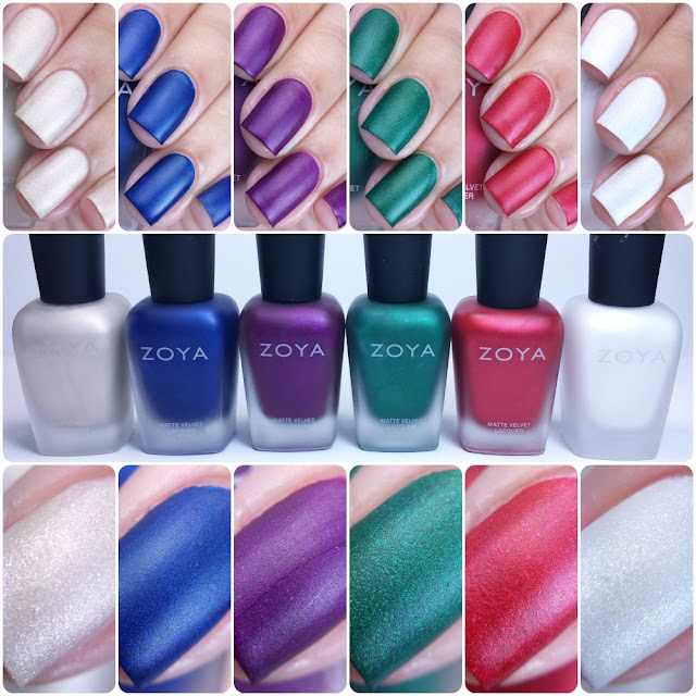 Zoya Velvet Winter/Holiday 2015 Collection