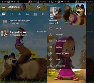BBM Mod Masha & the Bear