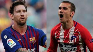 مشاهدة مباراة برشلونة واتلتيكو مدريد بث مباشر 6-04-2019 الدوري الاسباني