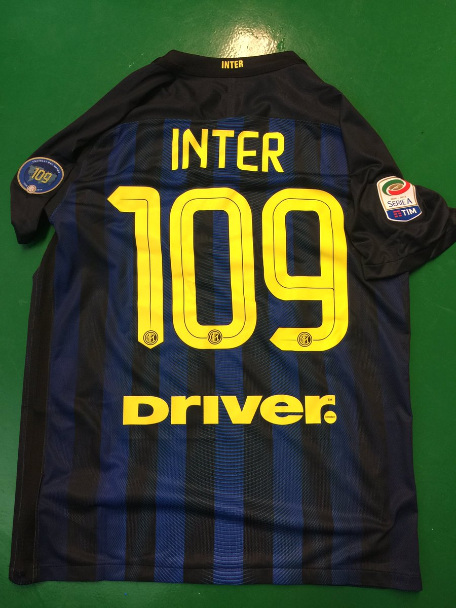 special inter milan 109 years anniversary kit released footy based on the regular home jersey the special inter milan 109 years anniversary shirt comes with a special sleeve badge that features the number 109