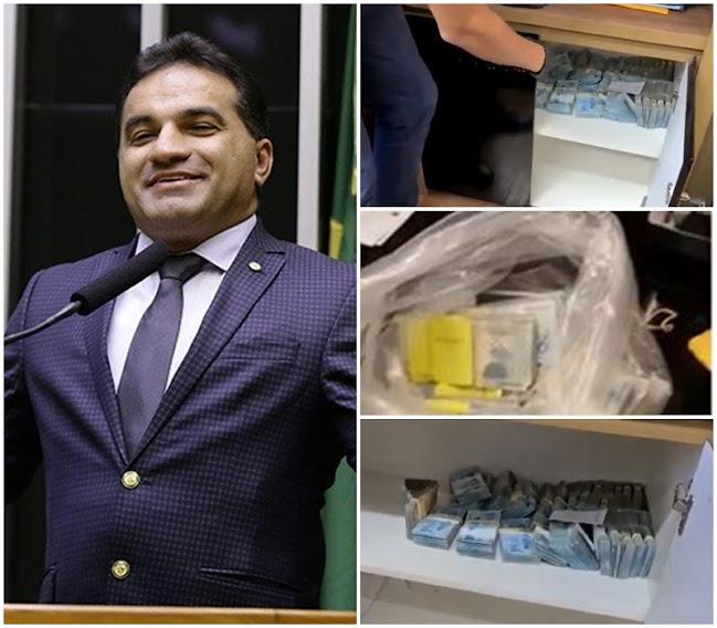 Blog do Gilberto Lima: Bom Dia Brasil exibe imagens do dinheiro apreendido pela PF no escritório de Josimar Maranhãozinho