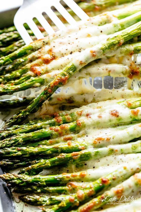 Cheesy Garlic Roasted Asparagus #recipes #dinnerrecipes #easyrecipes #neweasyrecipes #easydinnerrecipes #easyrecipesfordinner #neweasyrecipesfordinner #food #foodporn #healthy #yummy #instafood #foodie #delicious #dinner #breakfast #dessert #yum #lunch #vegan #cake #eatclean #homemade #diet #healthyfood #cleaneating #foodstagram