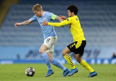 Manchester City Vs Dortmund (2 - 1)