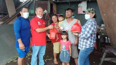 Angdew JWP Salurkan Bantuan Sembako Untuk Warga Terdampak Bencana Banjir