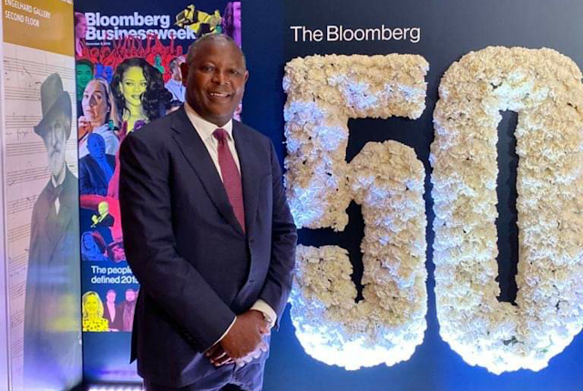 Equity Group CEO, James Mwangi at Bloomberg 50