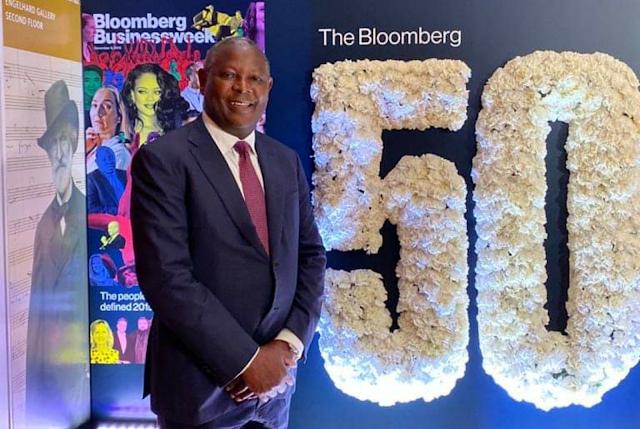 Equity Group CEO, James Mwangi at Bloomberg 50
