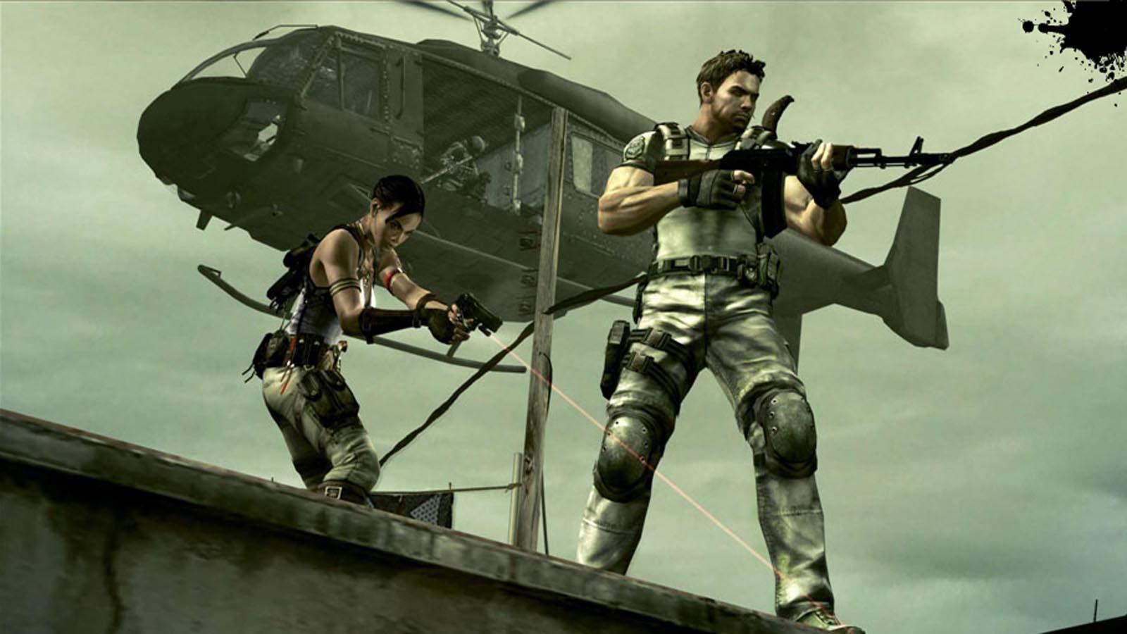 تحميل لعبة Resident Evil 5 مضغوطة كاملة بروابط مباشرة مجانا