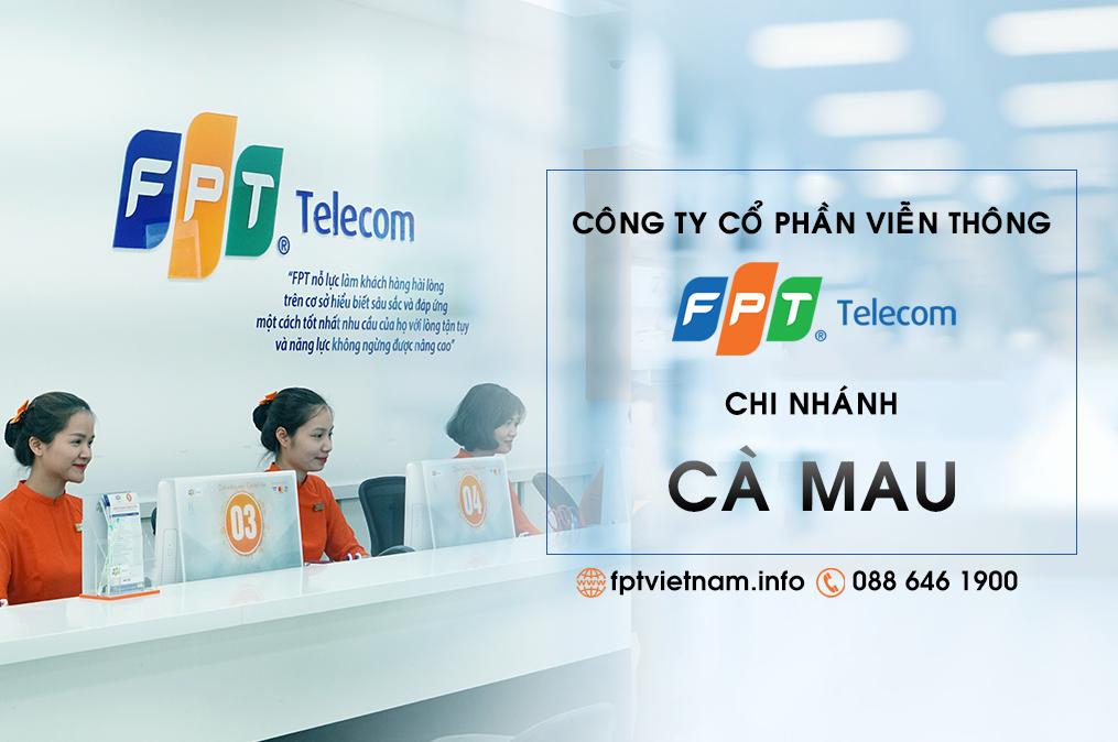Tổng đài FPT Cà Mau - Đăng ký lắp đặt Internet cáp quang miễn phí