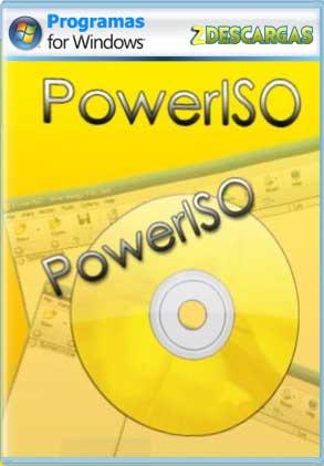 Descargar PowerISO full español mega y google drive /