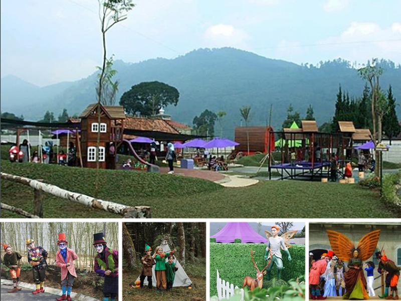 Fairy Garden Destinasi Wisata Baru Di The Lodge Maribaya