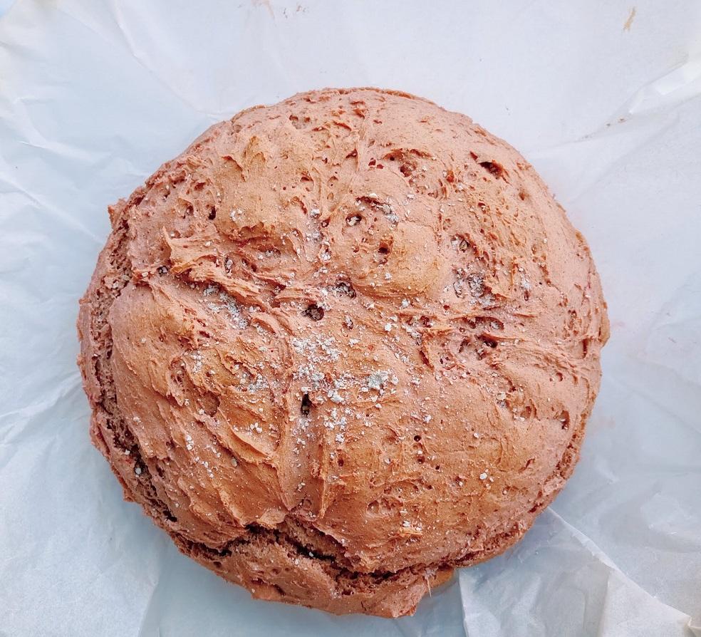 Pão de centeio e beterraba