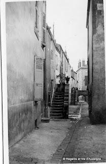 Clermont-Ferrand Impasse de Chauffour, 1931
