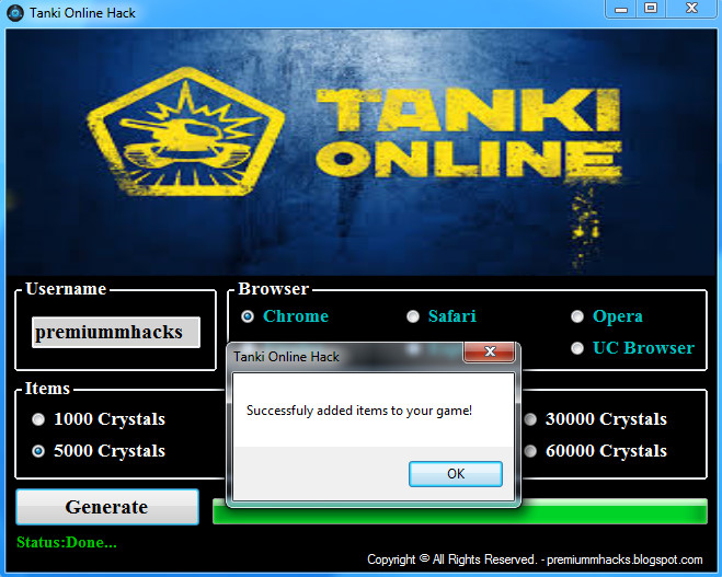 Tanki online hack crystal generator no activation code shiftlivin.