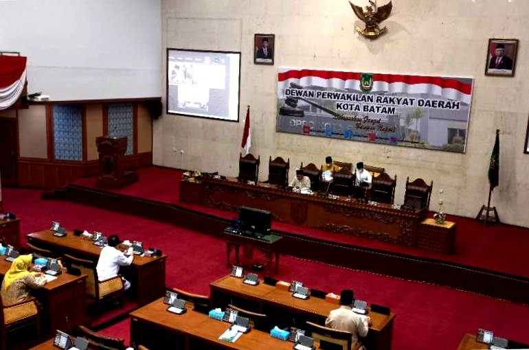 Ranperda Perubahan Perda No 16 Tahun 2007, Berikut Pandangan Fraksi DPRD Batam
