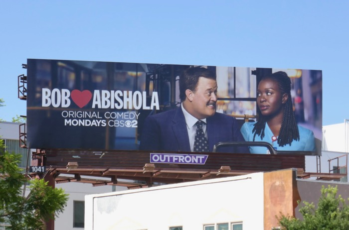 Bob Hearts Abishola series premiere billboard