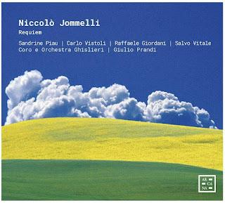 Jommelli Requiem; Sandrine Piau, Carlo Vistoli, Raffaele Giordani, Salvo Vitali, Coro e Orchestra Ghislieri, Giulio Prandi; Arcana