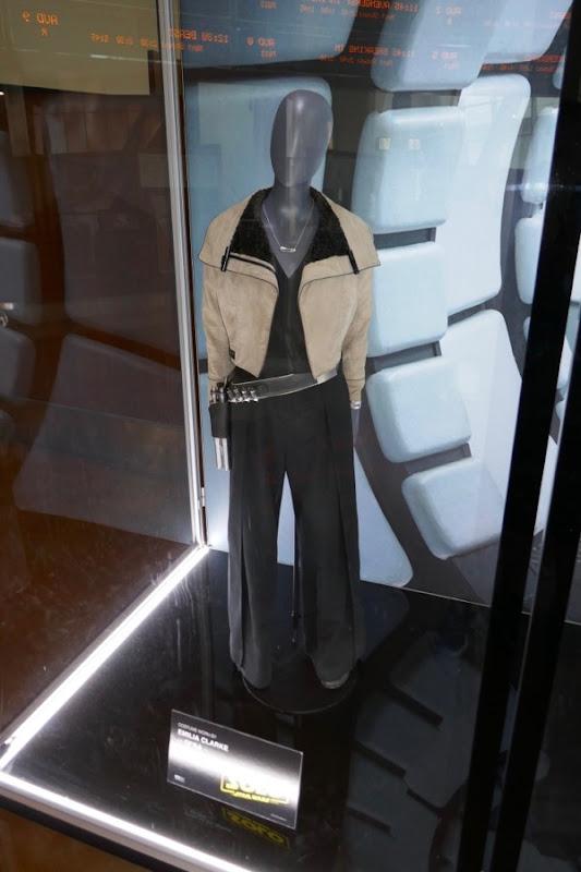 Emilia Clarke Solo Qi'ra movie costume