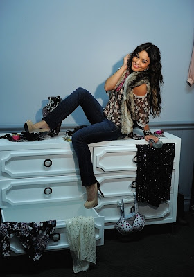 Vanessa Hudgens 2011 Photoshoot for Candie's Fall
