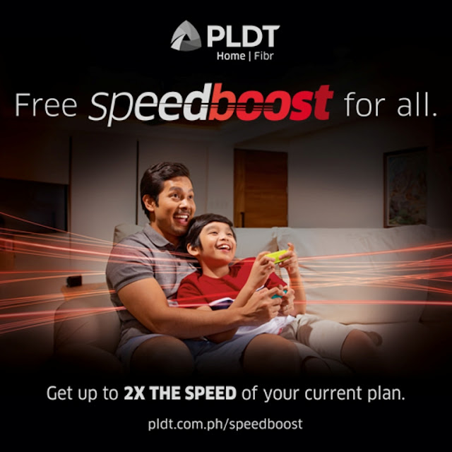 PLDT Home Fibr Speedboost