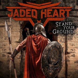 """Ο δίσκος των Jaded Heart """"Stand Your Ground"""""""