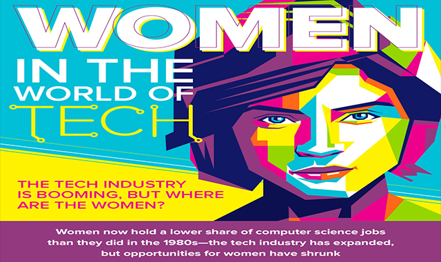 Women In The World Of Tech #infographic