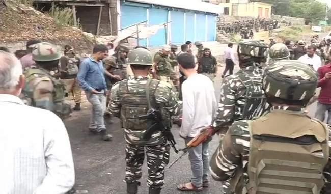 जम्मू कश्मीर में दो मुठभेड़ों में 6 आतंकी ढेर, एक जवान भी शहीद