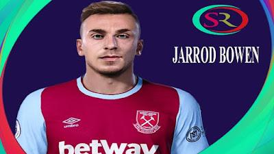 PES 2021 Faces Jarrod Bowen by SR