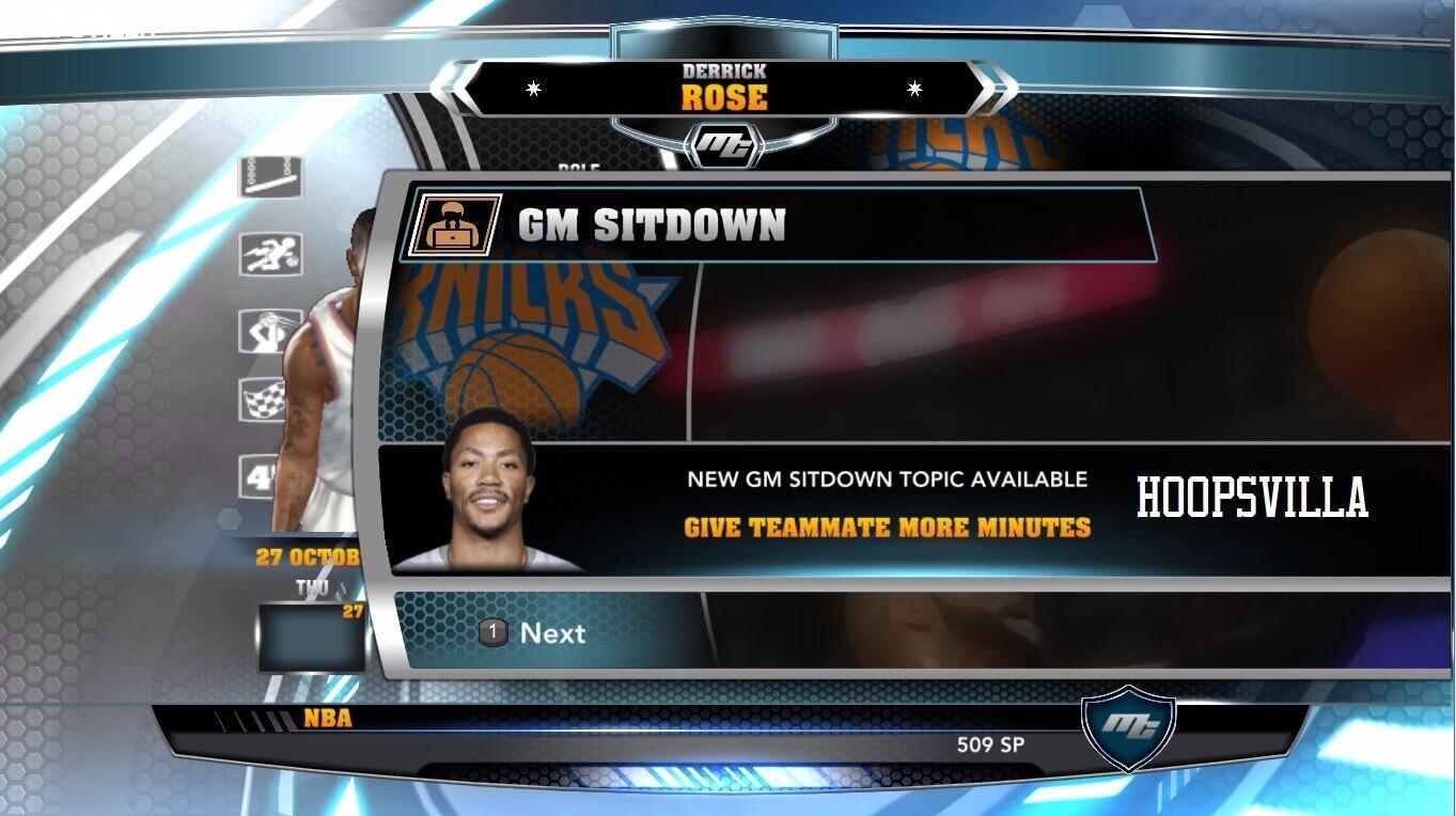 NBA 2k14 MyCareer Mod : Derrick Rose (Knicks) - hoopsvilla