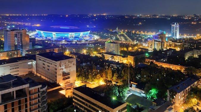 Donetsk la miglior città industriale dell'Ucraina