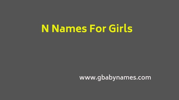 N Names For Girls