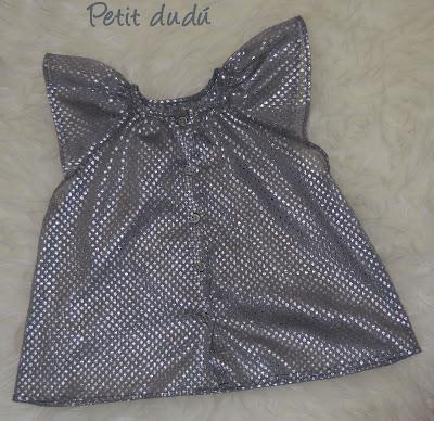 Blusa vaporosa niña petitdudu