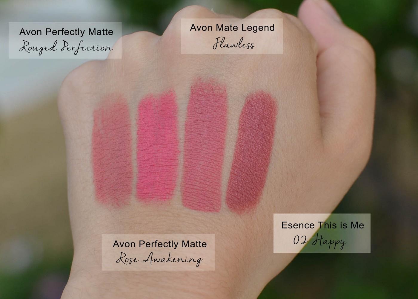 Avon True Matte Legend Lipstick Flawless