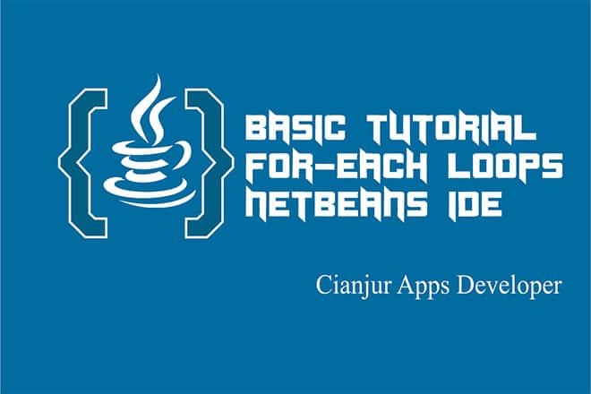 Berbedaan for-loops dengan for-each pada Java