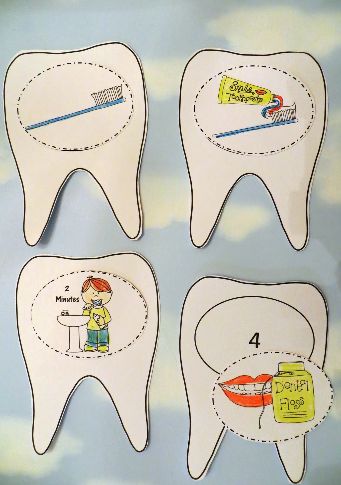 dental health activities for kids