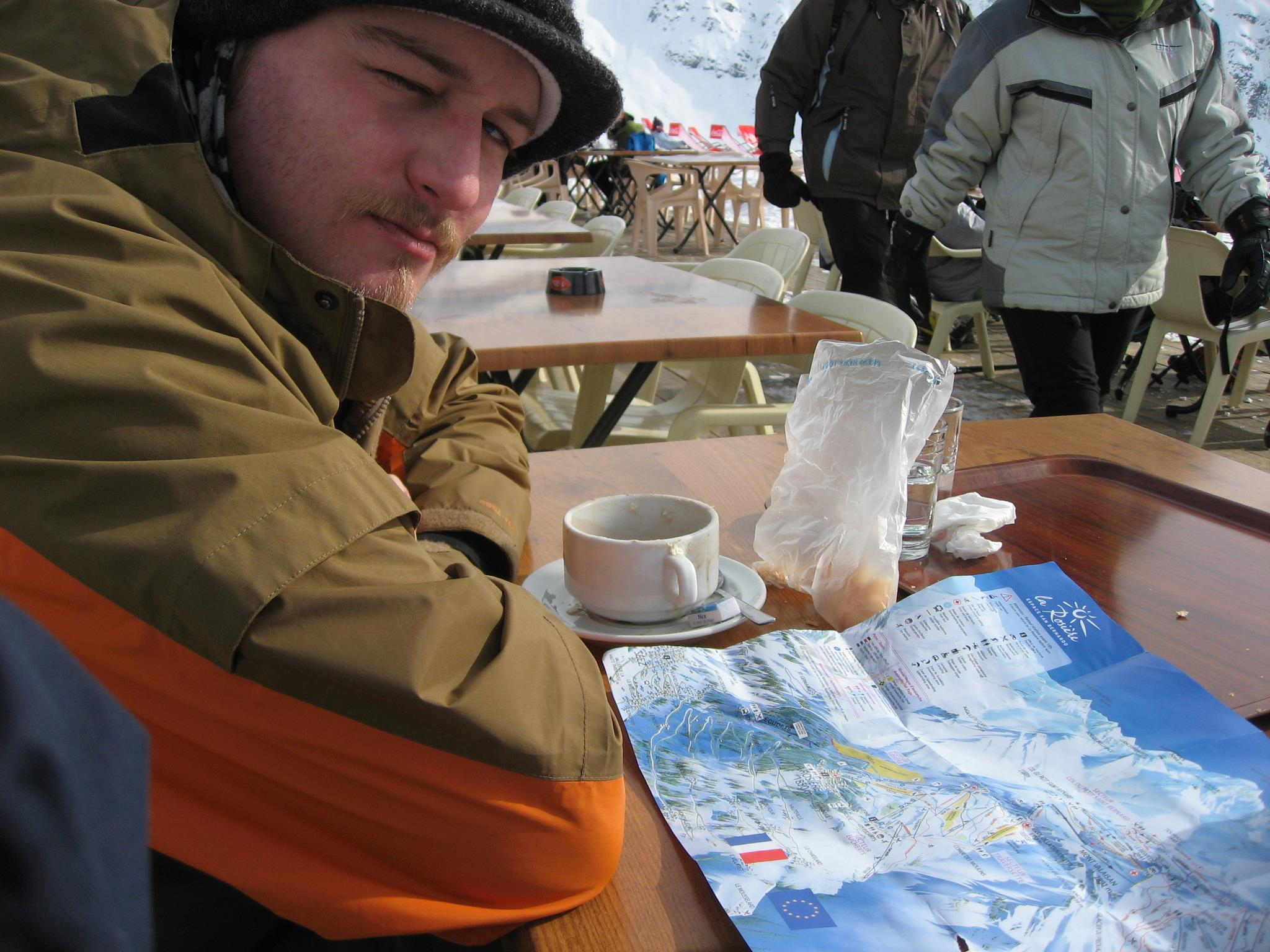 reading a ski slope map