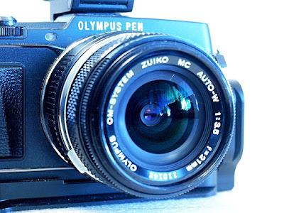 Olympus E-P5, Olympus OM Zuiko 21mm F3.5