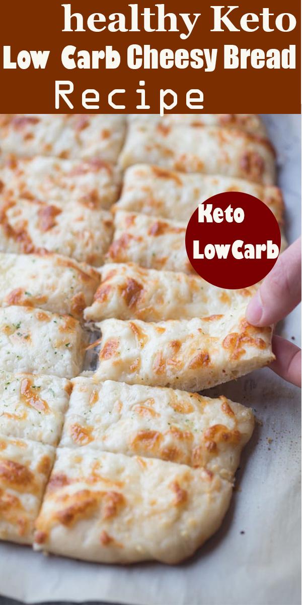 healthy Keto Low Carb Cheesy Bread Recipe #healthy #Keto #Low #Carb #Cheesy #Bread #Recipe #healthyKetoLowCarbCheesyBreadRecipe
