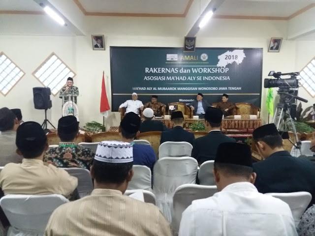 Perwakilan Ma'had Aly MUDI Ikuti RAKERNAS di Wonosobo, Jawa Tengah