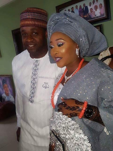 femi adebayo's sister weds lagos