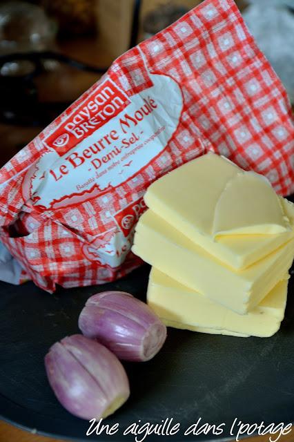 échalotes beurre lipig