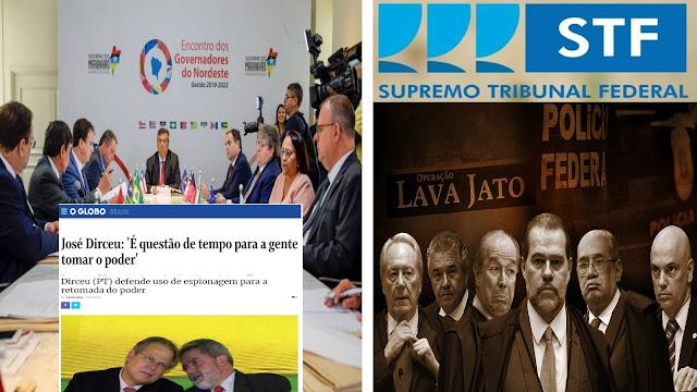 BOMBA! O blog destrincha desde início o golpe via Consórcio de governadores e STF
