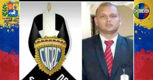 Funcionario del CICPC asesinado de un tiro en la cabeza
