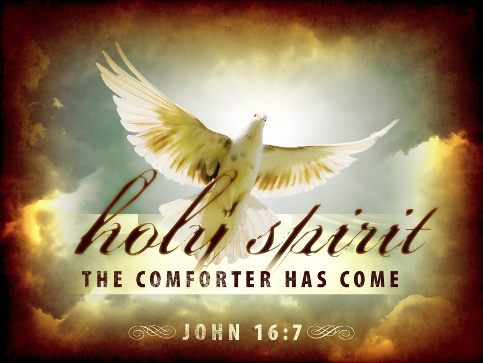 Other Food: daily devos: Holy Spirit-Comforter